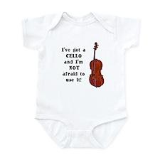 I've Got a Cello Infant Creeper