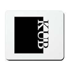 KUB Typography Mousepad