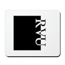 RVU Typography Mousepad
