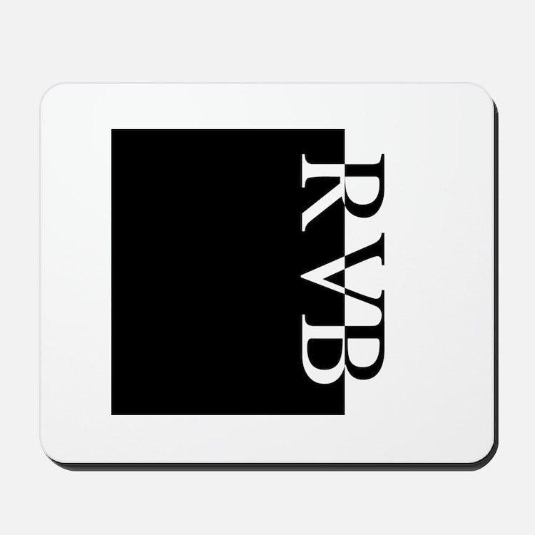 RVB Typography Mousepad