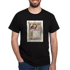 Nel mezzo del cammin Black T-Shirt