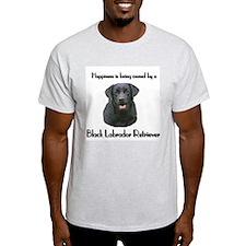 Happiness Labrador Ash Grey T-Shirt