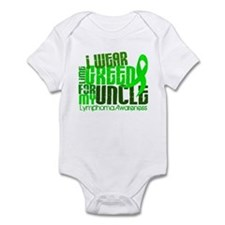 I Wear Lime 6.4 Lymphoma Infant Bodysuit