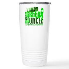 I Wear Lime 6.4 Lymphoma Travel Mug