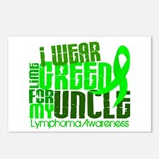 I Wear Lime 6.4 Lymphoma Postcards (Package of 8)