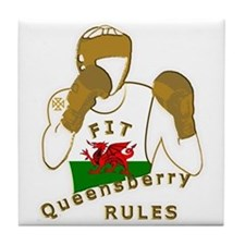 Wales Queensberry Style Boxing Tile Coaster