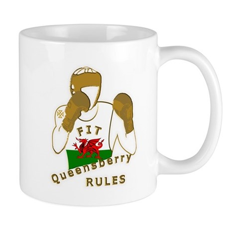 Wales Queensberry Style Boxing Mug