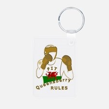 Wales Queensberry Style Boxing Keychains