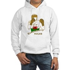 Wales Queensberry Style Boxing Hoodie