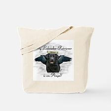 Labrador Retriever Angel Tote Bag