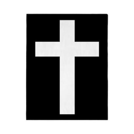 White Cross Twin Duvet
