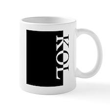 KOL Typography Mug