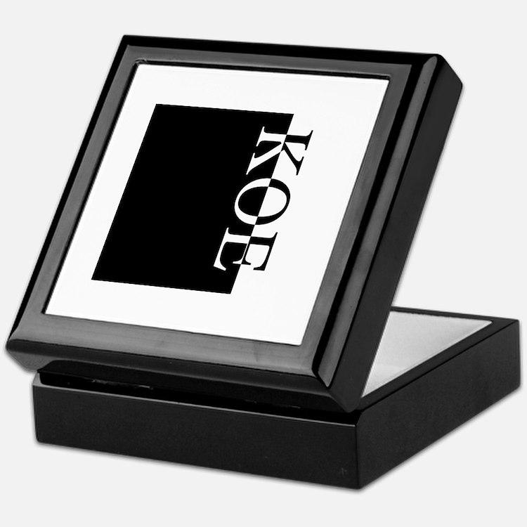 KOE Typography Keepsake Box