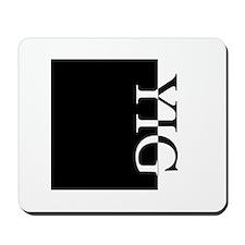 YIG Typography Mousepad