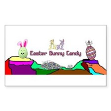 Easter Bunny Candy Decal