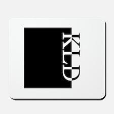 KLD Typography Mousepad