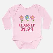2029 School Class Cute Long Sleeve Infant Bodysuit