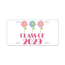 2029 School Class Cute Aluminum License Plate