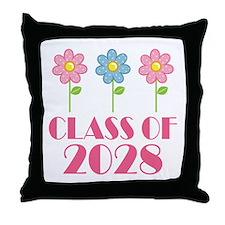 2028 School Class Cute Throw Pillow