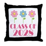 2028 School Class Cute Throw Pillow
