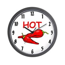 Unique Jalapeno Wall Clock