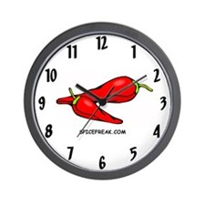 Spicefreak.com Wall Clock