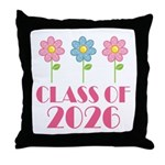 2026 School Class Throw Pillow