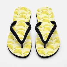 Banana Pattern Flip Flops