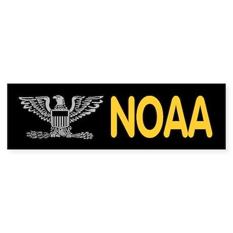 NOAA Captain<BR> Bumpersticker 1