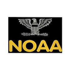 NOAA Captain<BR> Rectangle Magnet