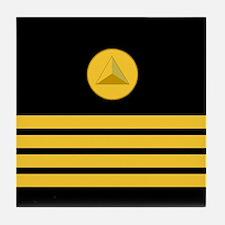 NOAA Captain<BR> Tile Coaster