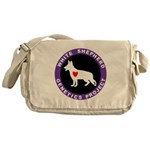 White Shepherd Genetics Proje Messenger Bag