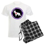 White Shepherd Genetics Proje Men's Light Pajamas
