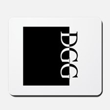 DGG Typography Mousepad
