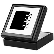 YAY Typography Keepsake Box