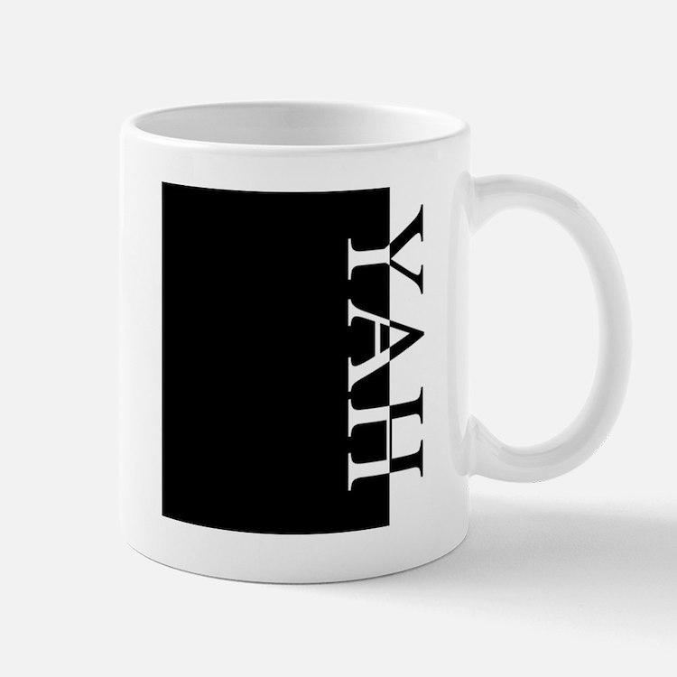YAH Typography Mug