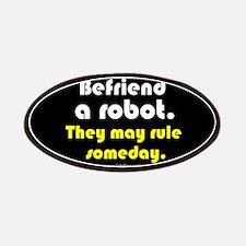 """Befriend A Robot"" Patches"