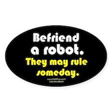 """""""Befriend A Robot"""" Decal"""