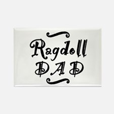 Ragdoll DAD Rectangle Magnet