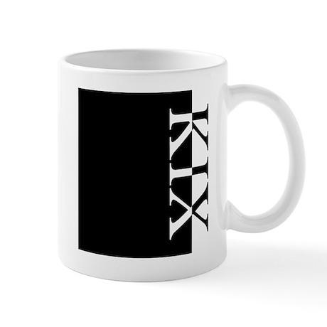 KIX Typography Mug