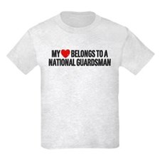 My Heart National Guardsman T-Shirt