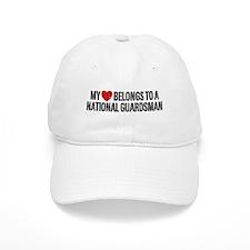 My Heart National Guardsman Baseball Cap