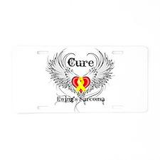 Cure Ewing Sarcoma Aluminum License Plate