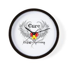Cure Ewing Sarcoma Wall Clock