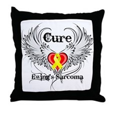 Cure Ewing Sarcoma Throw Pillow