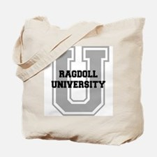 Ragdoll UNIVERSITY Tote Bag