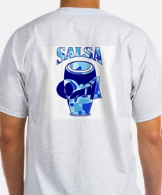 Salsa Force Blue Ash Grey T-Shirt
