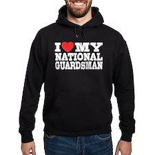 I Love My National Guardsman Hoodie