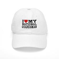 I Love My National Guardsman Baseball Cap