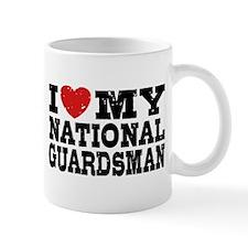 I Love My National Guardsman Mug
